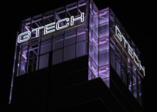 GTECH center graphics, Providence RI