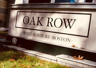 OAKROW - naming, branding, site graphics - West Roxbury