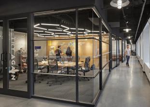 WELLB incubator space - interior graphics